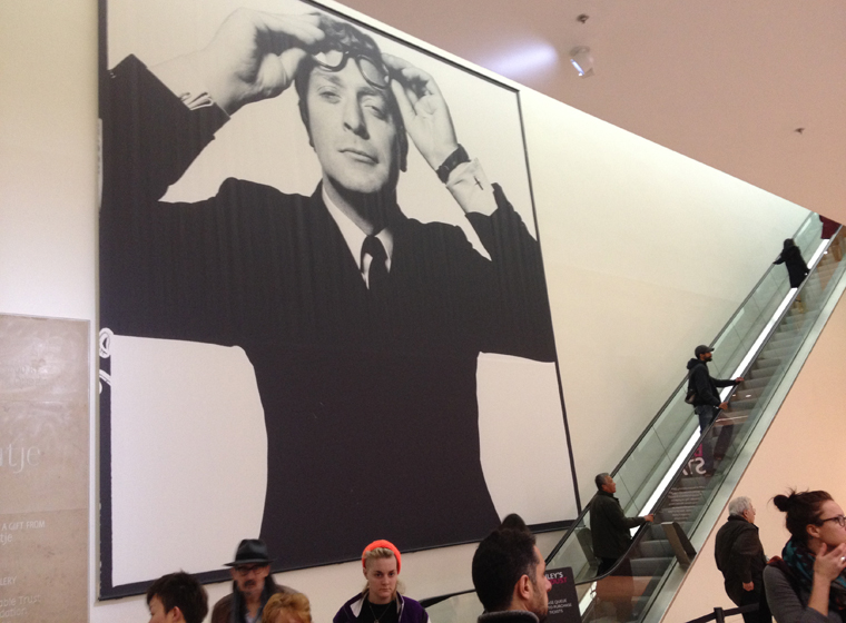 David Bailey at the National Portrait Gallery
