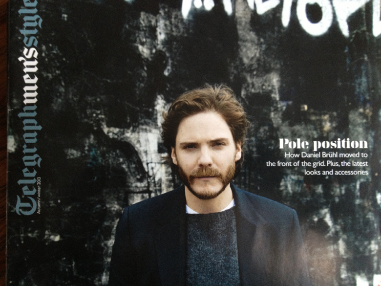 Daniel Bruhl in The Telegraph