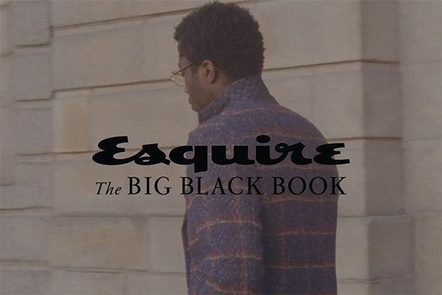 moving image esquire the big black book